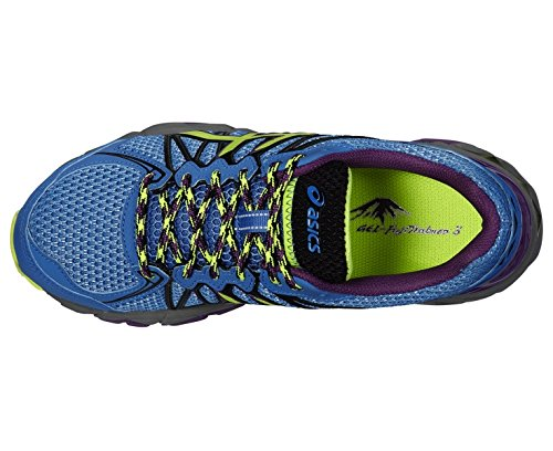 ASICS Gel-Fujitrabuco 3, Chaussures Multisport Outdoor Femmes Blue