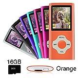 Ueleknight Lecteur MP3 MP4 avec Carte Micro SD 16G, Lecteur de Musique Numérique...