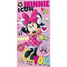 Toalla Minnie Disney Love Icon algodon