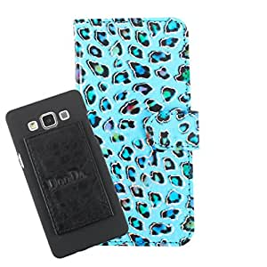 DooDa PU Leather Wallet Flip Case Cover With Card & ID Slots For Intex Aqua Q4 - Back Cover Not Included Peel And Paste