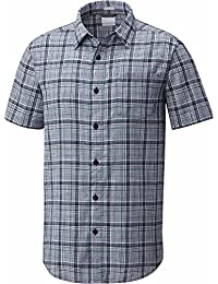 Columbia Camisa Under Exposure Yarn Dye SS Hombre - Cuadros Azules (s) 7a8af7a0f2e
