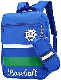 Preisvergleich für Dorapocket Creative Children Simple and Stylish School Backpack with Pencil Case
