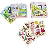 Haba-Magnetspiel-Anziehpuppe-Lilli-7392-Spielzeug-Spielzeug-Spielzeug