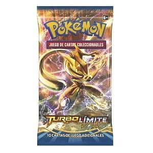 Pokémon - Sobre 10 cartas XY Turbo Límite, juego de cartas (The Pokémon Company POXY902ES)