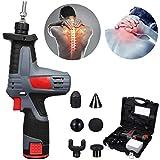 HWJF Pistola per Massaggio Professionale, massaggiatore per Fisioterapia Profonda e Dispositivo per Terapia ad Impatto Muscolare Hypervolt, Strumento per Il Recupero del Dolore del Corpo