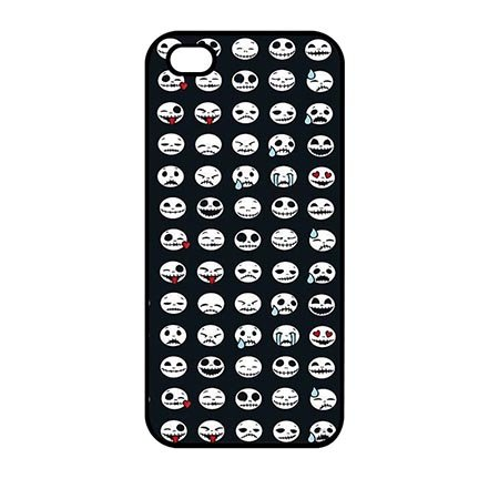 Custom Cool Happy Halloween Thin Flexible Plastic Hülle for iPhone 5 iPhone 5S iPhone SE, iPhone 5/5s/se Hard Shell Hülle Schutzhülle Case For - Iphone Halloween-thema 5