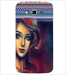 PrintDhaba Beautiful Girl D-2966 Back Case Cover for SAMSUNG GALAXY GRAND 2 (Multi-Coloured)