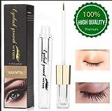 Eyelash Growth Serum Eyebrow Enhancer Serum Professional Eyelash Booster for Naturally Longer, Fuller