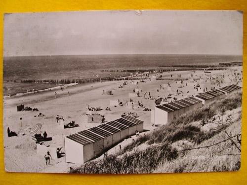 antigua-postal-old-postcard-domburg-strand-holanda