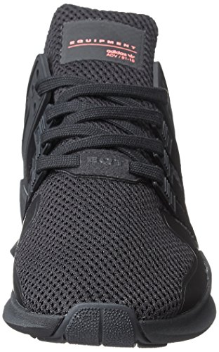 adidas Equipment Support ADV, Scarpe da Ginnastica Basse Uomo Nero (Core Black/core Black/turbo)
