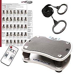 Vibrationsplatte Lifeplate 1.0 - Ideal Zur Muskelstimulation Und Fettverbrennung