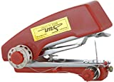 byc Mini Stapler Style Hand Sewing Machine for Quick and Easy Sewing (Red)