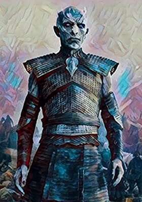 "Aluminium metal wall art ""Night King"" ""Game of Thrones"""