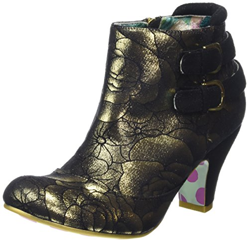 Irregular ChoiceThink About It - Stivaletti donna , Oro (Gold (Gold Floral)), 39