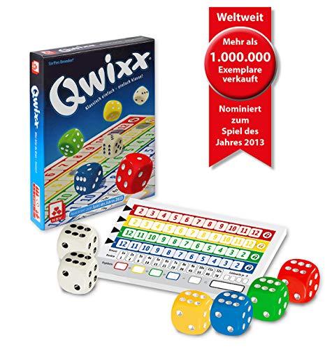 NSV – 4015 – QWIXX – nominiert zum Spiel des Jahres 2013 – Würfelspiel - 3