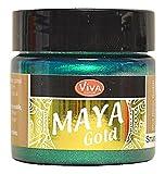 Viva Decor Maya Gold Smaragd