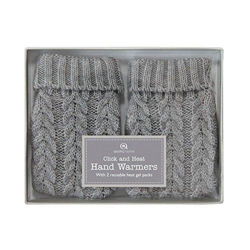 Preisvergleich Produktbild Aroma Home Strick Handwärmern,  grau