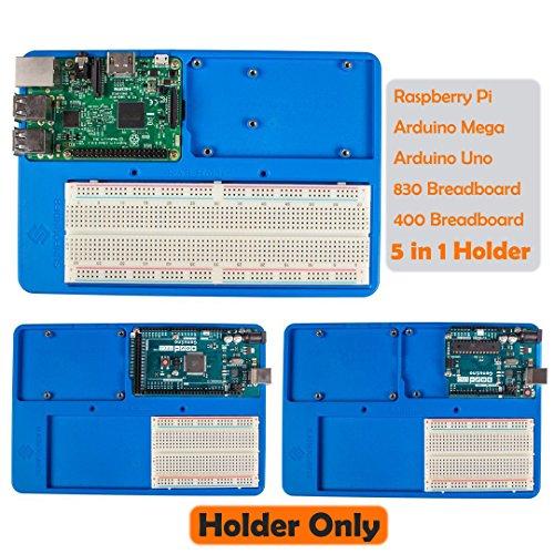 sunfounder-rab-5-in-1-breadboard-holder-base-plate-circuit-board-screws-for-arduino-uno-r3-mega-2560