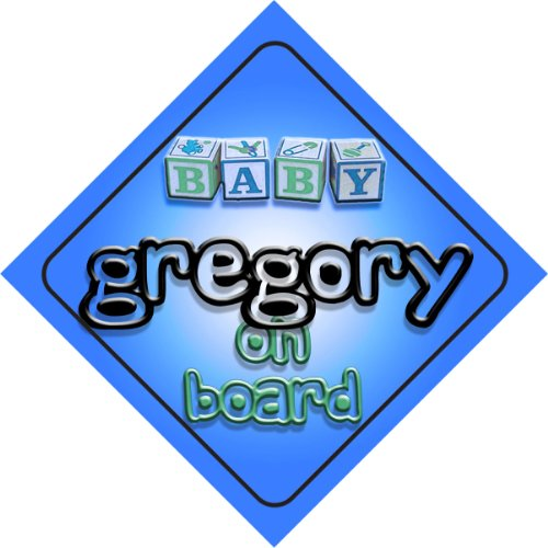 gregory-on-board-baby-boy-auto-a-forma-di-cartello-regalo-per-bambini-e-neonati