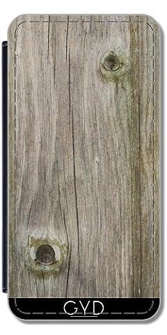 Etui à Rabat pour Samsung Galaxy S2 (GT-I9100) - Vieux Bois by Marina Kuchenbecker