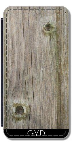 Coque pour Iphone SE - Vieux Bois by Marina Kuchenbecker Simili-Cuir