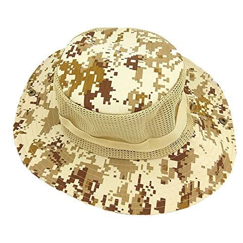 LQ-MAOZI Sombrero De Camuflaje Al Aire Libre De Malla