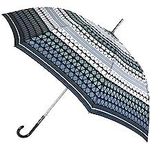 Paraguas Largo vogue con Original Estampado geométrico. Paraguas Mujer