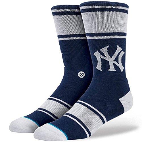 Stance Mens MLB New York Yankees Pinstripes Socks - Navy