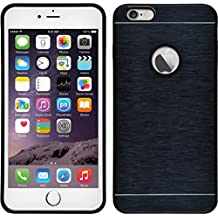 Funda Rígida para Apple iPhone 6 Plus / 6s Plus - metálico azul - Cover PhoneNatic Cubierta + protector de pantalla