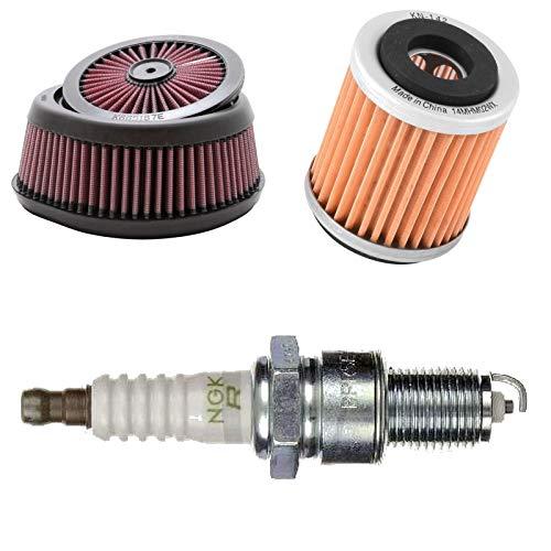 Air /& Huile Filtre à Carburant /& Bougie Tune up kit pour Kohler SV710 SV720 SV730 SV740