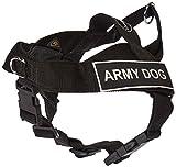 Dean & Tyler Universal Keine Pull 53,3cm zu 25Hundegeschirr, XS, Army Hund, schwarz