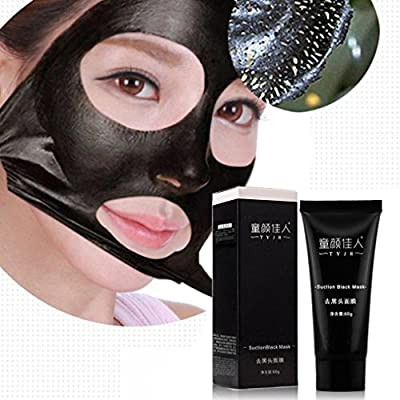 Blackhead Remover Mask,Fulltime(TM) Black Mud Deep Cleansing Purifying Peel Off Facial Mask by Fulltime