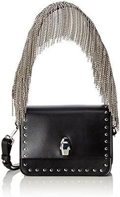 Cavalli Milano Bag 002 - Bolso de hombro de Piel Mujer 4x13,50x18,50 cm (B x H x T)