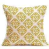 Longra Bohême Géométrique Throw Pillow Case Housse de coussin Décoration de maison 45cm * 45cm (G)
