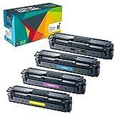 4 Do it Wiser Kompatible Toner CLT-P504C für Samsung Xpress CLX 4195FN C1810W C1860FW CLX-4195FW CLP-415 CLP-415N CLP-415NW CLP-470 CLP-475 CLX-4195N | CLT-K504S CLT-C504S CLT-M504S CLT-Y504S
