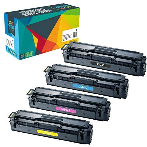 Do it Wiser 4 Toner Compatibili CLT-K504S per Samsung C504S C1810W CLX-4195FN CLP-415 CLP-415N CLP-415NW CLP-470 CLP-475 CLX-4195N CLX-4195FW SL-C1860FW CLX-4170 (4 Pack)