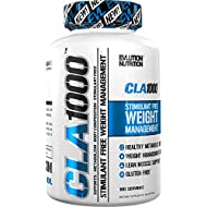 Evlution Nutrition - CLA 1000 Conjugated linoleic Acid, Soft Gel, Weight Loss Supplement, Stimulant-Free (180 Serving)