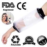 Copertura del ginocchio della gamba del piede di frattura della protesi della fasciatura protettiva impermeabile del getto per il braccio del gomito adulto della doccia con l'esame della FDA