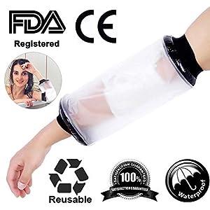 Wasserdichte Cast Bandage Protector Wunde Fraktur Fuß Bein Knie Abdeckung für Dusche Erwachsene Ellenbogen Arm mit FDA Attestation