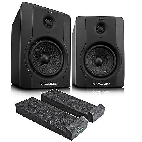 M-Audio BX5 Powered Studio Monitors - Pair Including Monitor Isolation