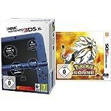 New Nintendo 3DS XL metallic blau(TN Variant) & Pokémon Sonne - [3DS]