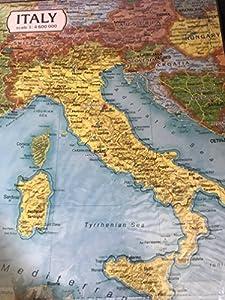 Clever Paper- Mapa de Italia Puzle 3D, Color Variado (20)