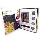 Les Trésors De Lily [L9217] - Mueble bar de uñas 'Festiv'ongles' de oro gris púrpura negro.