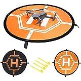 Neewer Quadcopter Ladugspad schnell-faltbar Helipad für RC Drones Hubschrauber DJI Mavic Pro, Phantom 2/3/4/4 Pro, Inspire 2/1, 3DR Solo, GoPro Karma, Papagei, Antel Roboter (75 Zentimeter)