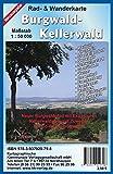 Burgwald - Kellerwald: Rad- und Wanderkarte