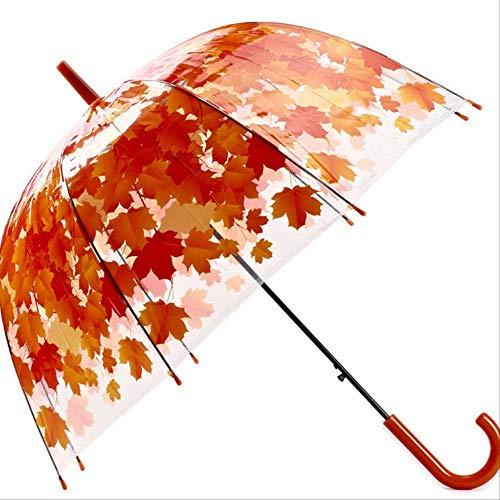 GJJDF Forma Hongo Transparente Unbrellas Bubble Paraguas