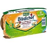 Blédina blédichef emincés de pdt et poulet chasseur/moj legumes cabillaud 4x2 - ( Prix Unitaire ) - Envoi Rapide...