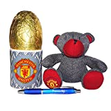 Manchester United FC Mug and Teddy Bear set with Easter egg