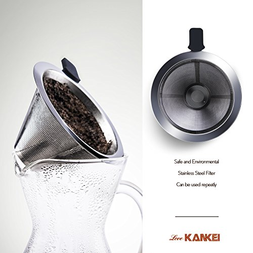 love kankei manuell kaffeebereiter kaffeekanne pour preisvergleich bei. Black Bedroom Furniture Sets. Home Design Ideas