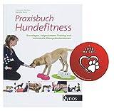 Praxisbuch Hundefitness: Grundlagen, zielgerichtetes Training und individuelle Übungskombinationen Gebundenes Buch + I Love My Dog Sticker by Collectix